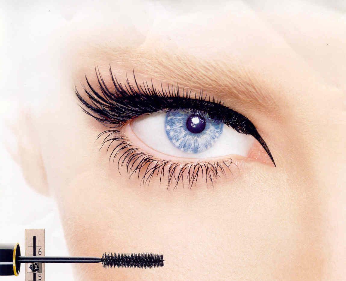 Eye With Mascara hd image